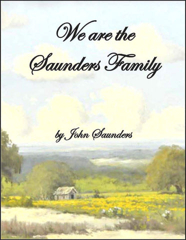 We are the Saunders Family--DVD