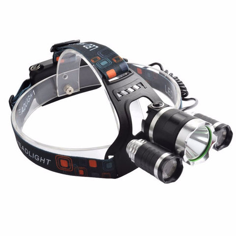 10000Lm CREE XML LED Headlight - HonestMonkeys