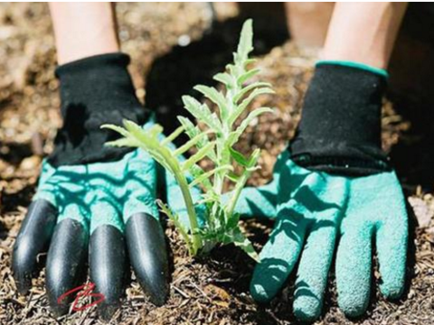 Gloves with clawed hand, good for gardening - HonestMonkeys
