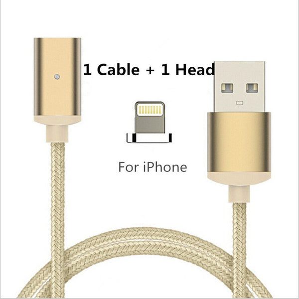High Speed Charging Magnetic Cable For Apple Or Android - HonestMonkeys