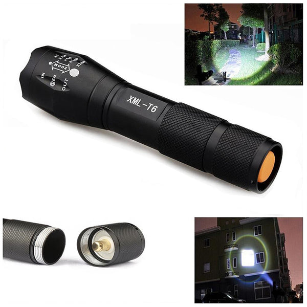 3800LM Aluminum Waterproof Zoomable Torch - HonestMonkeys