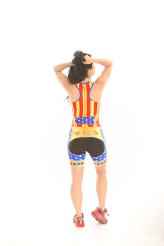 WILD Wonder Woman Tri Shorts
