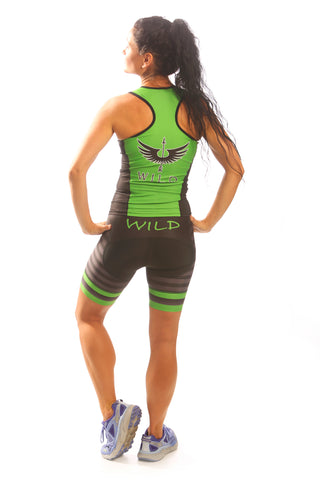 Glowing Green Tri Short
