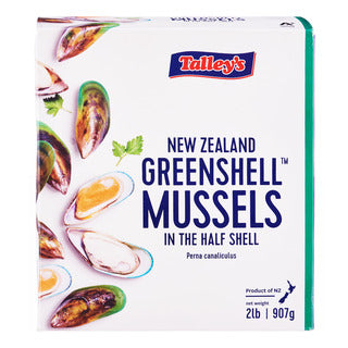 Frozen New Zealand Greenshell Mussels - Evergreen Seafood