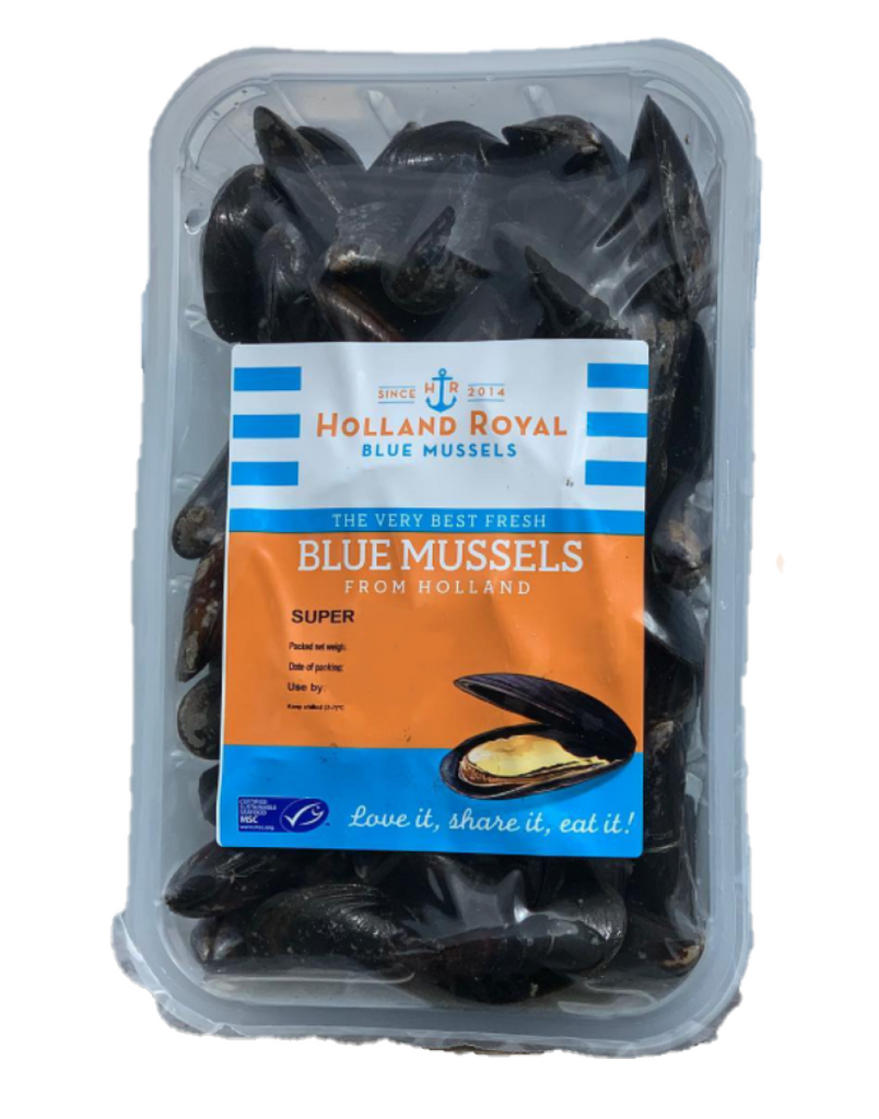 Buy Live Holland Royal Blue Mussels Online for Delivery - Evergreen Seafood Singapore