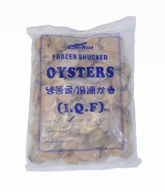 Buy Frozen Korea Oyster Meat Online for Delivery - Evergreen Seafood Singapore