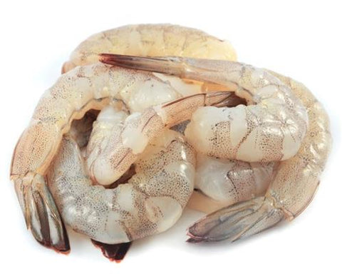 Frozen Vannamei Prawn Tail On Peeled Deveined - Evergreen Seafood