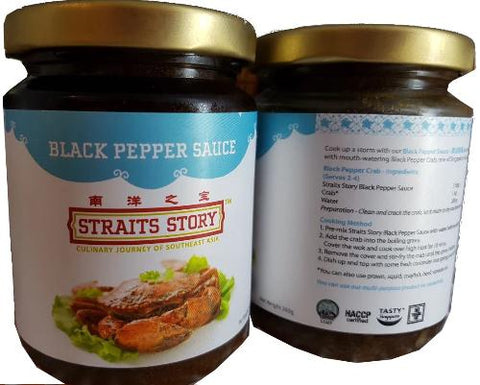 Buy Black Pepper Sauce Online for Delivery - Evergreen Seafood Singapore