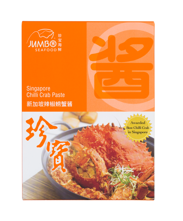 Buy Jumbo Seafood Chilli Crab Paste Online for Delivery - Evergreen Seafood Singapore