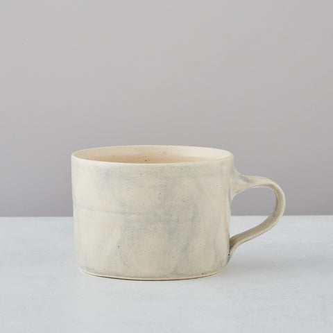 BLUE WASH SQUAT MUG