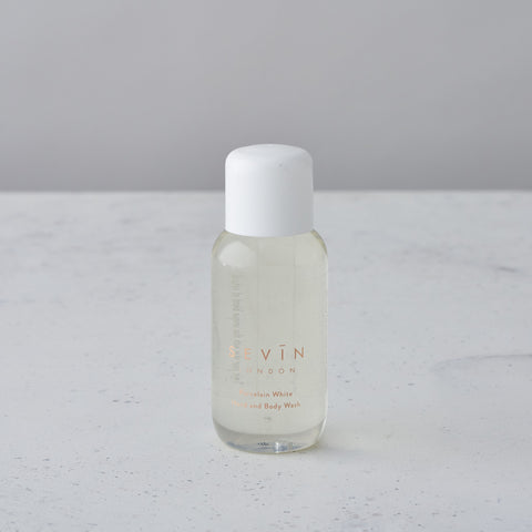MINI PORCELAIN WHITE HAND & BODY WASH