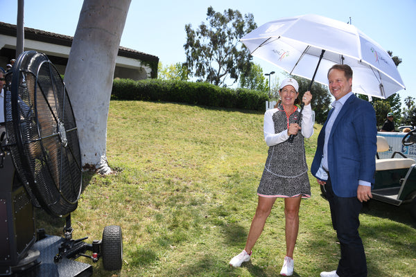 Weatherman Named Official Umbrella of the LPGA