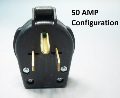 Parallel Plug and Receptacle, 50 Amp