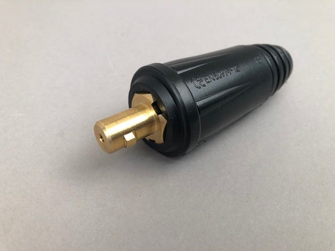 "35 Dinse (1/2"") Adapter with Flow Thru gas for 9 & 17 Series TIG Torches"