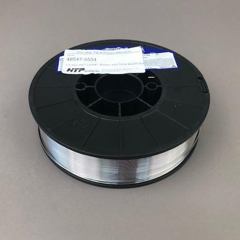 "Made in the U.S.A.! Alcotec® ER5554 Aluminum MIG Welding Wire, 5 Lb, 8"" Spool"