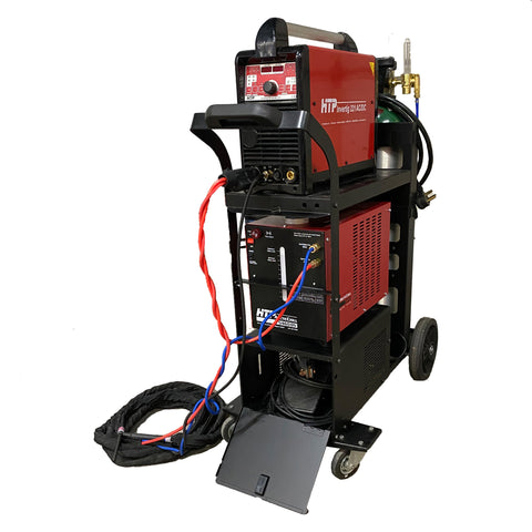 Heavy-Duty Welding Cart for HTP America® Invertig™ 221/221DV, MTS 210, Pro Pulse™ 200, & Pro Pulse™ 220 MTS