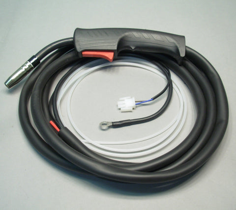 10' 15 Series (150A) MIG Gun, w/Molex Style Trigger Connection, f/HTP America® MIG 130 Welders