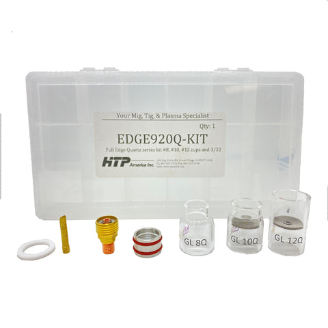 EDGE® Quartz Cup Kit for 9 and 20 Series TIG Torches