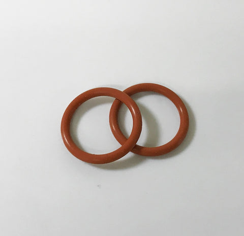 EDGE® Gas Lens Adapter O-Ring for 9 & 20 Series TIG Torches, 2-Pack
