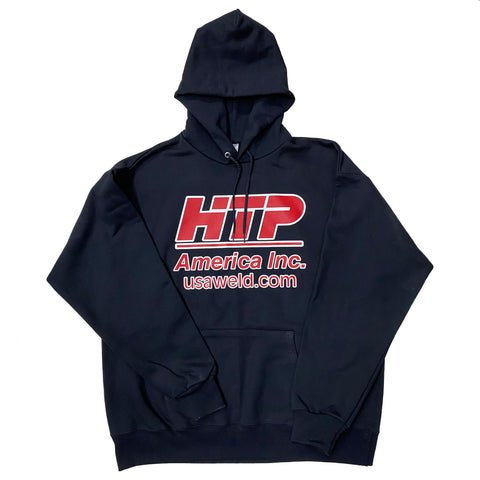 "NEW! HTP America® ""Drive a Lincoln, Drink a Miller, but weld with an HTP!"" Hoodie"