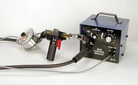 Spool Gun with Contactor & Control Box, Fits Engine Driven Welders with a CV Setting