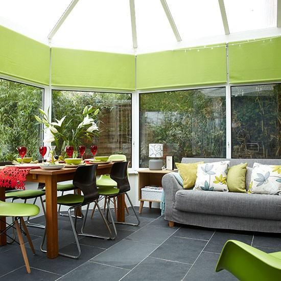 Green Conservatory Ideas