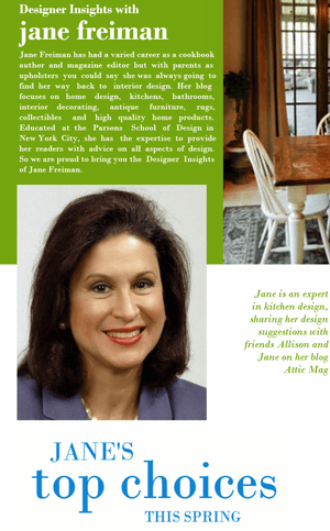 Designer Insights with Jane Freiman