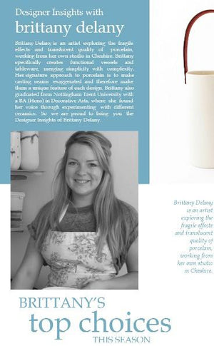 Designer Insights with Brittany Delany