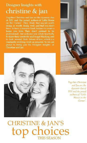 Designer Insights - Christine & Jan