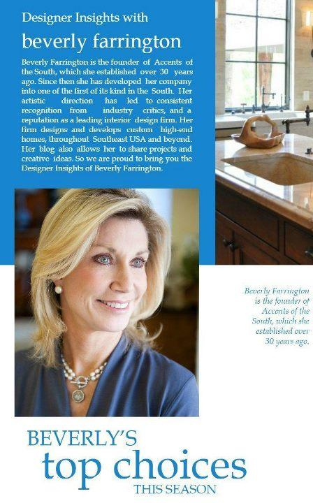 Designer Insights with Beverly Farrington