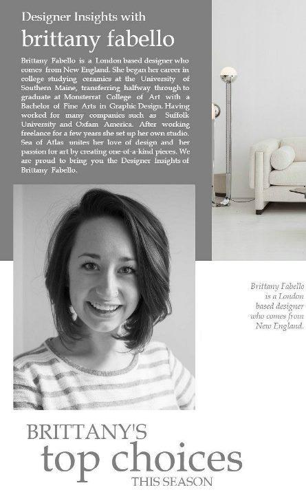 Designer Insights Brittany Fabello Sea of Atlas