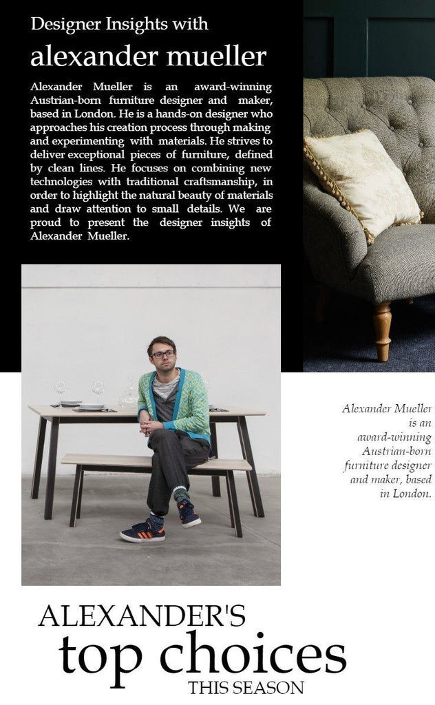 Designer Insights with Alexander Muller