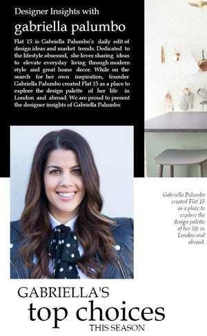 Designer Insights with Gabriella Palumbo