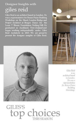 Designer Insights with Giles Reid