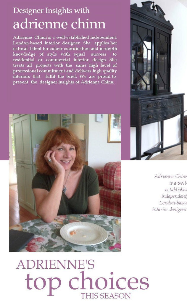 Designer Insights with Adrienne Chinn
