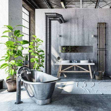 How to Do Grey in the Bathroom
