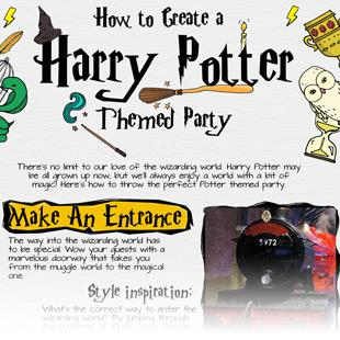 Creating A Harry Potter Style Party