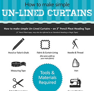 How To Make Unlined Curtains