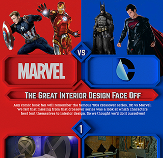 Marvel vs DC: The Great Design Face Off