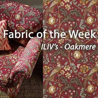 ILIV's Oakmere - Friday's Fabulous Fabric of the Week!