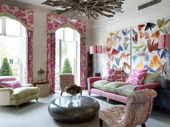 Living Room Love With A Feminine Touch Terrys Fabricss