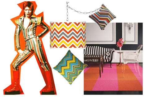 The style of David Bowie