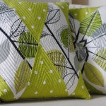 DIY fabric cushions made by a customer