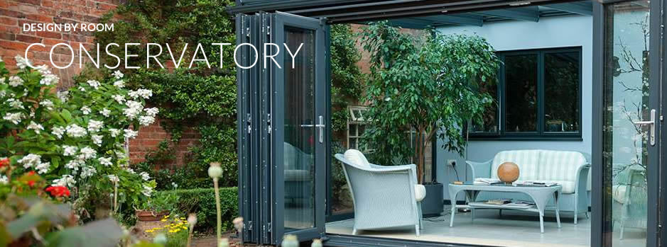 Design by room - conservatory