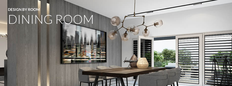 Design by room - dining room