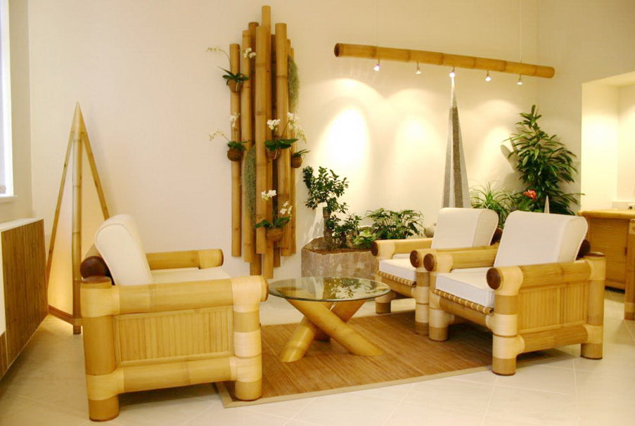 Bamboo Decor Living Room