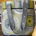 DIY fabric bag made by a customer