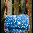 DIY fabric holdall bag made by a customer