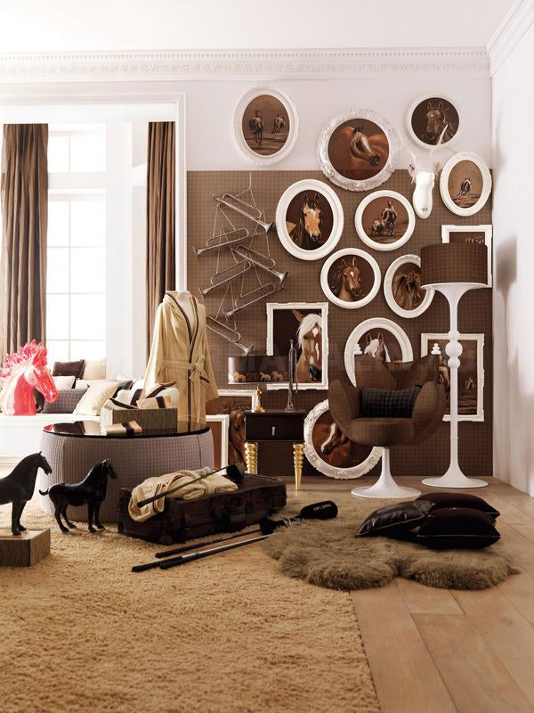 hot to trot inspiring equestrian themes terrys fabricss blog - Horse Bedroom Ideas