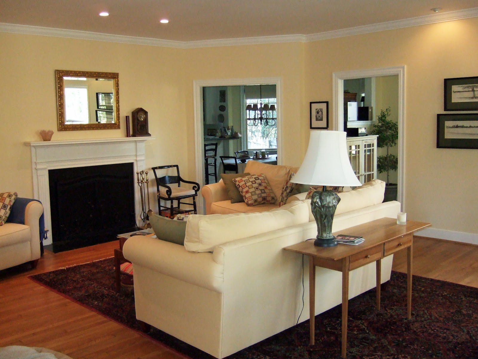 Paint colors for living rooms with brown furniture - Cream Living Room Ideas Terrys Fabrics S Blog